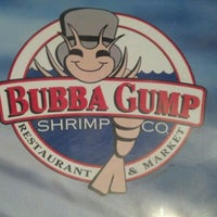Photo taken at Bubba Gump Shrimp Co. by Billy L. on 6/15/2012
