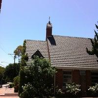Photo taken at Village Church by Carol 'Red E. on 7/9/2012