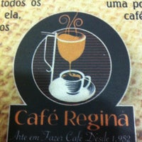 Photo taken at Café Regina by Marcos L. on 7/17/2012