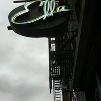 Photo taken at Ella Lounge by Cam on 6/11/2012