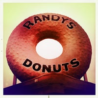 Photo taken at Randy's Donuts by Michael C. on 6/16/2012