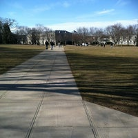 Photo taken at URI Quad by Jay S. on 2/21/2012