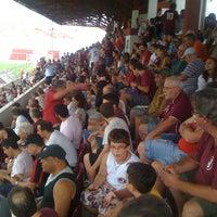 Photo taken at Estádio Conde Rodolfo Crespi by juca s. on 2/11/2012