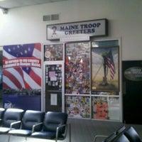 Photo taken at Bangor International Airport (BGR) by BigBen P. on 7/21/2012