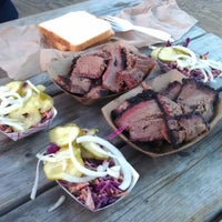 Photo taken at Delaney Barbecue: BrisketTown by Johnny T. on 8/7/2012