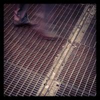 """Photo taken at Max Neuhaus """"Times Square"""" by Laurel F. on 7/15/2012"""