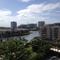 Photo taken at Crowne Plaza Hollywood Beach Resort by Diego H. on 7/23/2012