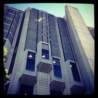 Photo taken at Robarts Library by Robert C. on 6/14/2012