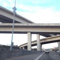 Photo taken at Spaghetti Junction (Tom Moreland Interchange) by Andre on 2/20/2012