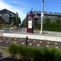 Photo taken at TriMet Quatama/NW 205th Ave MAX Station by Adrienne on 8/7/2012
