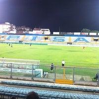 Photo taken at Arena Garibaldi - Stadio Romeo Anconetani by Roberto B. on 7/28/2012
