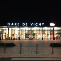 Photo taken at Gare SNCF de Vichy by Jamile F. on 7/14/2012