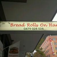 Photo taken at Bread Rolls on Harris by Ian C. on 5/24/2012