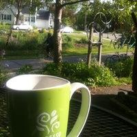 Photo taken at Cafe Zoma by David J. on 5/11/2012