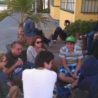 Photo taken at Pub Playa Paraíso by Jacob P. on 2/3/2012