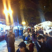 Photo taken at Feira Noturna do Champagnat by Aneleh A. on 7/6/2012