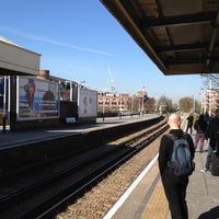 Photo taken at Kingston Railway Station (KNG) by Tony H. on 4/6/2012