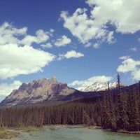 Photo taken at Banff National Park by Brandon P. on 7/5/2012