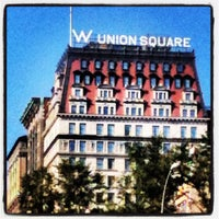Photo taken at W New York - Union Square by Ravi M. on 8/28/2012