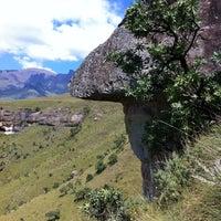 Photo taken at Mushroom Rock, Drakensburg by Lourens V. on 4/4/2012