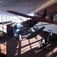 Photo taken at Kalamazoo - Battle Creek International Airport (AZO) by Larry B. on 2/26/2012