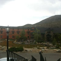Photo taken at The Lounge @ Mt. Charleston by Teresa C. on 7/4/2012