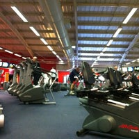 Photo taken at Lancashire Health & Racquets Esporta Leisure Centre by Gary K. on 2/25/2012