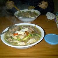 Photo taken at Bánh Đa Cua-Đại Học Công Đoàn by Gà C. on 2/29/2012