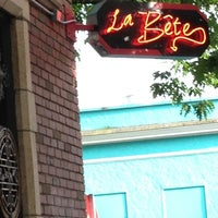 Photo taken at La Bête by trice the afrikanbuttafly on 5/31/2012
