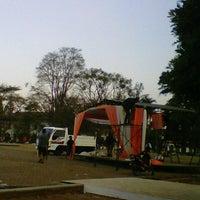 Photo taken at Lapangan Gasibu by nenden h. on 8/26/2012