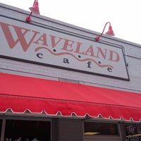 Photo taken at Waveland Cafe by Russ G. on 9/1/2012