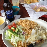 Photo taken at Flores Mexican Restaurant by Kyle B. on 2/18/2012