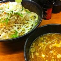 Photo taken at すーぷ道 連 by konbaiya on 2/25/2012
