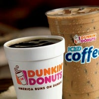 Photo taken at Dunkin' Donuts by Matthew A. on 4/9/2012