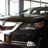 Photo taken at Bloomington Acura Subaru by Brad on 1/12/2011