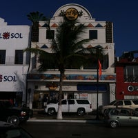 Photo taken at Hard Rock Cafe Cozumel by Marco on 8/17/2011