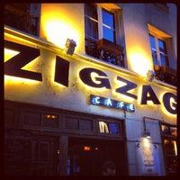 Photo taken at Zig Zag Café by #striikae k. on 6/21/2012