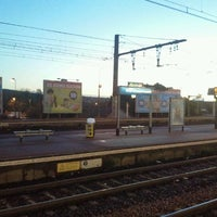 Photo taken at RER Montgeron — Crosne [D] by laurent e. on 11/4/2011