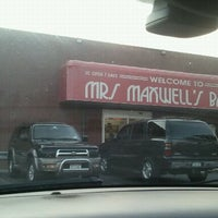 Photo taken at Mrs. Maxwell Bakery by Randy T. on 10/15/2011