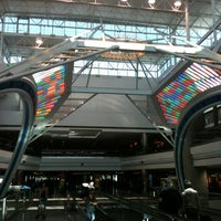 Photo taken at Concourse B by Kerry M. on 4/21/2012