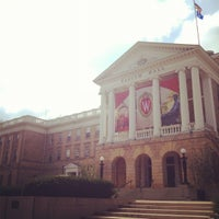 Photo taken at Bascom Hall by Anna L. on 9/2/2012