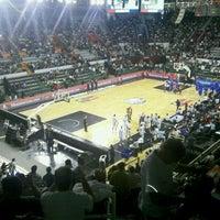 Photo taken at Estadio Polideportivo Islas Malvinas by Cristian B. on 9/8/2011