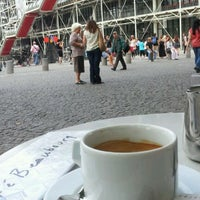 Photo taken at Café Beaubourg by . n. on 8/17/2011