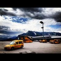 Photo taken at Salzburg Airport W. A. Mozart (SZG) by Maik H. on 7/17/2012