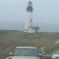 Photo taken at Yaquina Head Lighthouse by Ronel W. on 7/8/2012