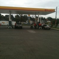 Photo taken at Shell by Carlos D. on 4/3/2012
