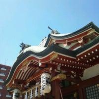 Photo taken at 水天宮 by Shigenori M. on 9/9/2012