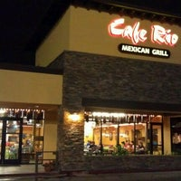 Photo taken at Cafe Rio Mexican Grill by Chris F. on 9/26/2011