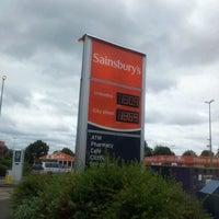 Photo taken at Sainsbury's by Timothy N. on 7/17/2012