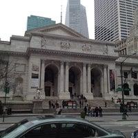 Photo taken at New York Public Library - Stephen A. Schwarzman Building Celeste Bartos Forum by Victor A. on 3/25/2012